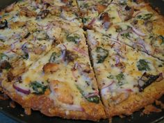This pizza was absolutely delicious. I call it my white pizza. It's so different from classic red sauced pizzas. I think I'll add more spinach next time. I used ½ cup on this one but will use 3...