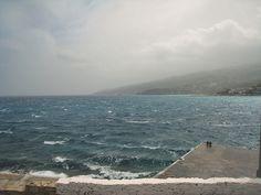 Άρωμα Ικαρίας: Μια δύσκολη μέρα ....💨💨 💬 Beach, Water, Outdoor, Gripe Water, Outdoors, The Beach, Beaches, Outdoor Living, Garden