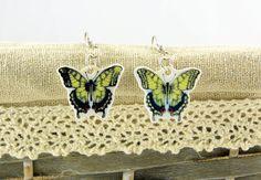Butterfly swallowtail earrings
