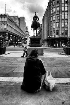 Greggs at Gallery of Modern Art - glasgow, goma, the duke of wellington - without traffic cone | Flickr - Photo Sharing!
