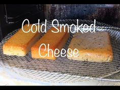 Cold Smoked Cheese in my Masterbuilt Masterbuilt Smoker, Smoked Cheese, Smoke Bbq, Grilling Tips, Best Cheese, How To Make Cheese, Hot Dog Buns, Bread, Cold