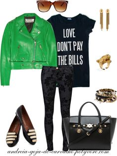 """""""LOVE DON´T PAY THE BILLS ..."""" by andreia-goja-de-carvalho on Polyvore"""
