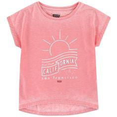 T-shirt ample illustré - 160349