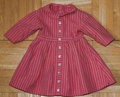 AMERICAN GIRL ADDY Pink Stripe Meet Dress Excellent Condition   eBay