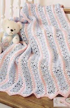 MILE A MINUTE CROCHET AFGHAN PATTERN | Easy Crochet Patterns