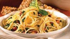 Spaguetti con pollo en salsa de queso - Recepedia | Y su receta, ¿cuál es?