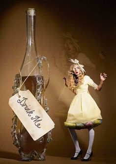 Modern fairytale / Alice in Wonderland / karen cox.  Model: Cara Delavigne. Photography by George Bamford. S)