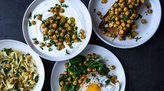 Herbed Chickpeas Recipe   Bon Appetit