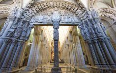 El Pórtico de la Gloria.Catedral de Santiago de Compostela (La Coruña), siglo XII. (Isaac Brito)