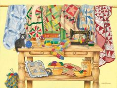 Kay Lamb Shannon The Qulting Table