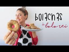 (149) Bolachas de Bolo-rei - YouTube Cookies, Doughnut, Recipies, Algarve, Breakfast, Sweet, Brownies, Desserts, Youtube