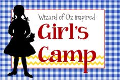 A few good girls camp ideas...including a skit