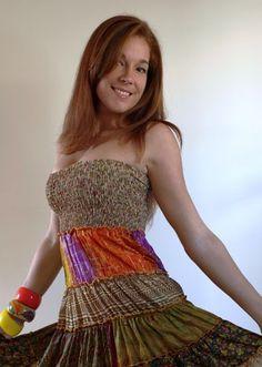 Is it time to raid nana's patchwork quilt basket? Read more at http://www.deidaa.com.au/spring-summer-fashion-5-top-trends/  #deidaa #springsummerfashion #boho #disco #patchwork