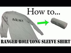 How to Ranger Roll Clothes at TheDogLogs