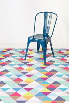 Geometric Vinyl Flooring — Heart Home