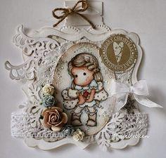 Pysselfrökens blogg: Julkort med nya Puppy Love Tilda från Winter Wonderland Collection