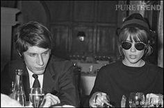 Françoise Hardy et Jacques Dutronc, des amants inséparables même s'ils vivent aujourd'hui des vies séparées.