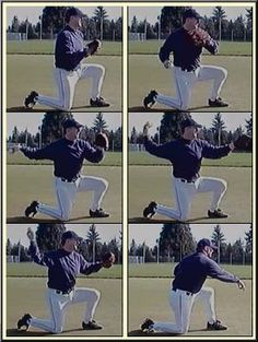 baseball drills, Focus on Form and arm placement