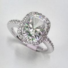 rectangular engagement ring