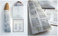 Sara Nicely | Flour Pot Bakery packaging design