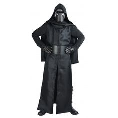 STAR WARS COSTUMES: : Star Wars The Force Awakens Kylo Ren Replica Costume including Belt - Replica Star Wars Costume makes a great gift for the man in your life