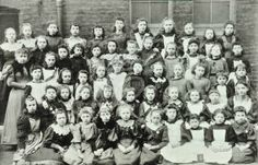Victoria Place School: girls group, 1894