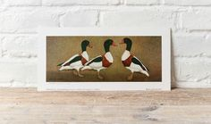 It's today in Signed, limited ed prints I'll just keep Herefordshire, Ducks, Frame, Prints, Home Decor, Art, Picture Frame, Art Background, Decoration Home