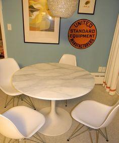 Buy Or Diy: Marble Saarinen Tulip Table Vs. The Ikea Hack