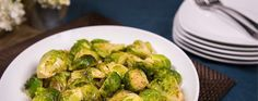 Maple and GREY POUPON-Glazed Brussel Sprouts You'll never guess the chef's secret was Grey Poupon when you taste each savory bite of this classic wintry side.