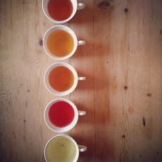 An at home Leaf & Ardor tea tasting.