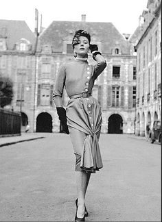 Bettina Graziani, 1950's