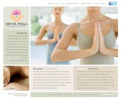 Divya Yoga and Massage :: Services Performed: Custom Web Design | Copywriting | Branding, Image, & Identity | Logo Design | Social Media Marketing