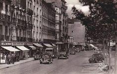 Le quai Commandant-Charcot en 1955