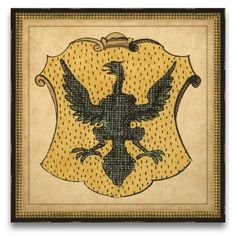 Honored Heritage Eagle Shield Wall Art
