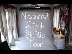 Simply Loved Studio - the home of Simply Loved Photography - natural light studio tour