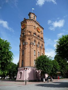 Vinnytsia's old water tower