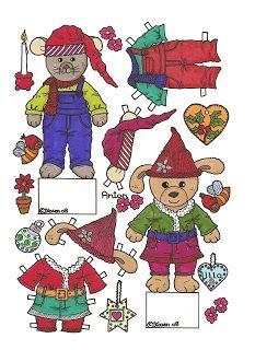 Karen`s Paper Dolls: Anton