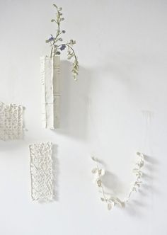 New piece in the making: the hanging petal chain  | WhiteAtelierBCN