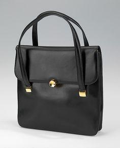 Bag Manufacturer: Gucci  (Italian, founded 1921) Date: 1958–60 Culture: Italian Medium: leather, metal