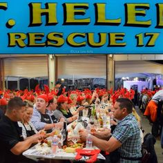 St. Helena Ca, Fire Department Lobster Boil