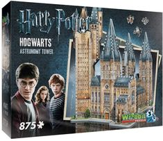 Harry Potter Collection 875-pc. Hogwarts Astronomy Tower 3D Puzzle by Wrebbit #ad #harrypotter #puzzle