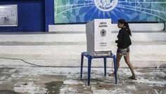 TSE garante votação eletrônica nas eleições de 2016. (foto: EPA)