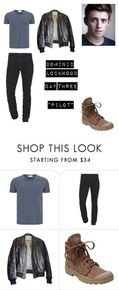 """""""Dominic LockWood Worlds Colliding (The Vampire Diaries) 1.01 """"Pilot"""""""" by heartofice97 on Polyvore featuring American Vintage, Dsquared2, Palladium, men's fashion and menswear"""