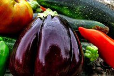 Zucchini und Aubergine wenig belastet