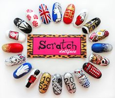 My Royal Jubilee Themes nails by Scratch Dollface