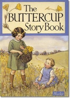 Cicely M Barker : Other Miscellaneous Works - Blackies Story Book - The Buttercup Story Book