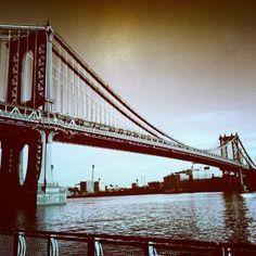 New York City, Manhattan Bridge New York City Photos, Places In New York, Manhattan Bridge, George Washington Bridge, Golden Gate Bridge, Photo Art, Nyc, Bridges, Travel