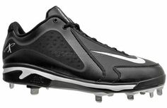 Nike Air Swingman MVP Metal Mens Baseball Cleats  Black / White  http://www.gearhouseclearance.com/servlet/the-Shoes-%26-Cleats-cln-Baseball-Cleats/Categories