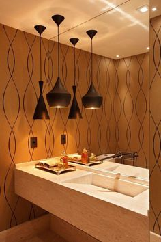 como fazer iluminaçao de tecto pendente de casa de banho - Pesquisa Google