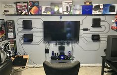 Most Popular Video Game Room Ideas [Feel the Awesome Game Play]. Tags: #VideoGameRoom # GameRooms #GameRoomFurniture #RecRoomGames #HomeDecorIdeas #HouseIdeas | related search: Teenage gamer room ideas, Organization Girly games room, Lights Seating decor, Minimalist Ikea gamer room diy, Small Modern gamer room ideas, man cave Design Couple, Kids gamer room ideas decor, Art gamer room ideas, offices Game Decor gamer room ideas, boy Furniture bedrooms, Youtube gamer room design geek, Setup…